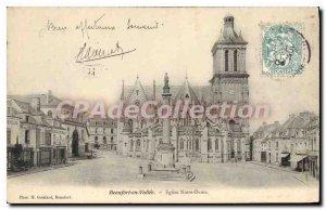 Postcard Old Beaufort En Vallee Notre Dame Church
