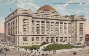 County Court House Omaha Nebraska 1915