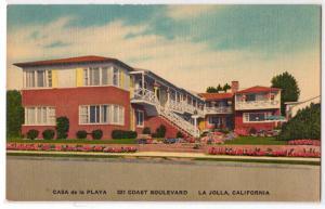 Casa de la Playa, La Jolla CA