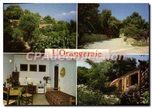 Postcard Modern Orangeraie Bastelicaccia Cantieri Albert