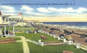 Windsor And Congress Hall Hotels  Cape May NJ Unused