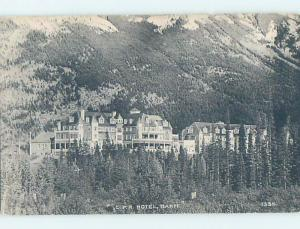 Unused Divided-Back HOTEL SCENE Banff Alberta AB B1768