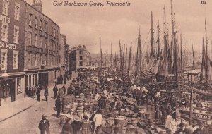 PLYMOUTH, Devon, England, 1900-1910's; Old Barbican Quay
