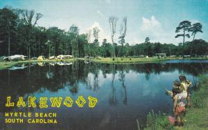 LAKEWOOD Camping Grounds , MYRTLE BEACH , South Carolina , 40-60s
