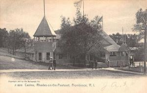 Providence Rhode Island Casino On The Pawtuxent Antique Postcard K34639