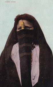 EGYPTE, 1900-1910's; Femme Arabe, Arab Woman