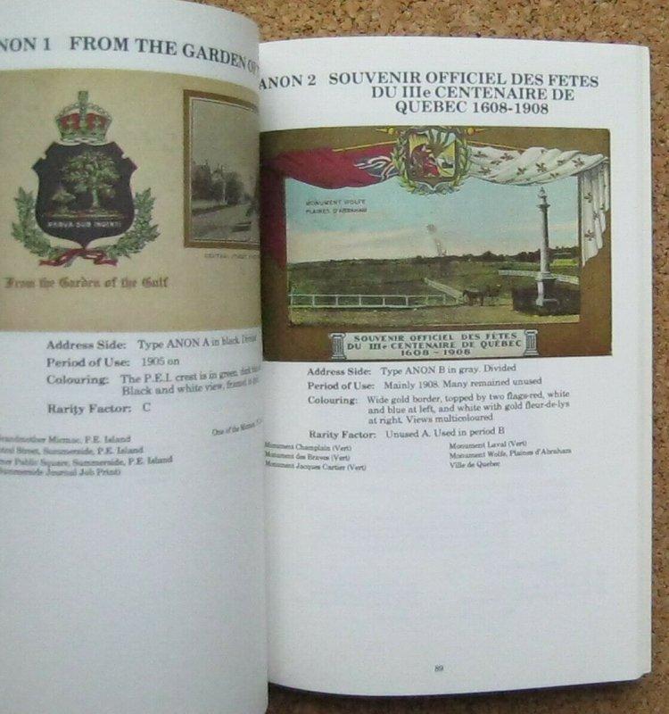The Canadian Patriotic Post Card Handbook 1904-14 1985 Gutzman Unitrade Press