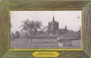 Iowa Cedar Rapids Union Station 1907