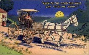 Comic Comical Carte, Postal Postal Unused