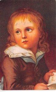 Head of Child - Christian Lebrecht Vogel Artist Postal Used Date Unknown