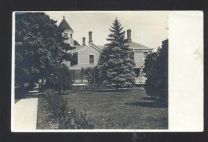 RPPC LOMBARD ILLINOIS VICTORIAN RESIDENCE HOUSE VINTAGE REAL PHOTO POSTCARD