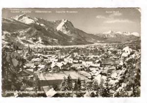 RP; Aerial View, Mountain Range, Snow covered Daniel (Tirol) Austria, 10-20s