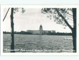 1940's rppc NICE VIEW Regina Saskatchewan SK W0913