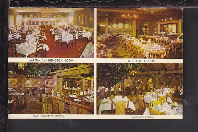 The Wagon Wheel Restaurant,Rockton,IL Postcard