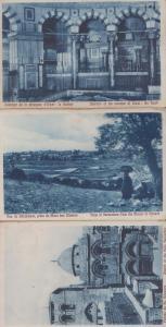 Jerusalem Mount Of Olivers Omar Mosque 3x Antique Postcard s