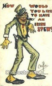 Artist Percy Crosby Series # 565 1911 crease left top corner, corner wear, po...