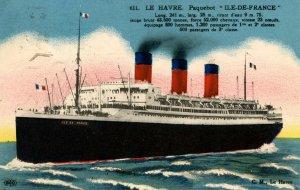 Transatlantique Generale - SS Ile-de-France