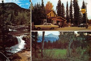 Canada Bragg Creek, Alberta Elbow Falls west of Bragg Creek