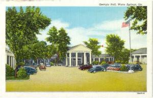 Georgia Hall Warm Springs, Georgia, GA, Linen