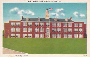 Virginia Martinsville Marion Marion High School