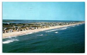 1973 Aerial View of Fenwick Island, DE Postcard *4U