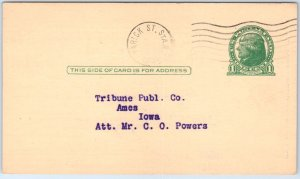 Vintage Advertising Postcard MARKELL MFG CO Staple Remover New York City 1939