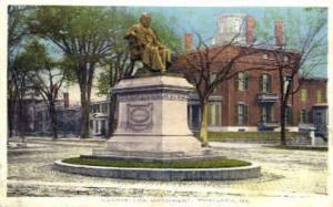 Longfellow Monument Portland ME 1914