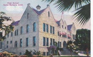 SANTA BARBARA, California, 1900-10s; High School