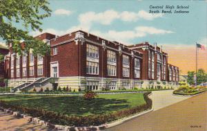 Indiana South Bend Central High School Curteich