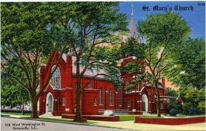 St. Mary's Catholic Church - Greenville, South Carolina Linen