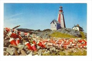 LIGHTHOUSE, Yarmouth, Nova Scotia, Canada, 40-60s