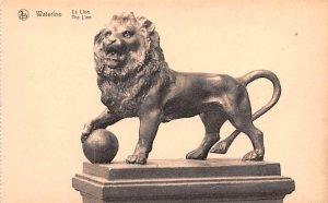 Le Lion Waterloo Belgium Unused