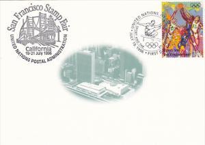 San Francisco Stamp Fair 1996 United Nations Postal Administration