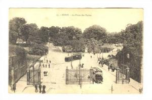 Scene, La Place Des Portes, Brest (Finistère), France, 1900-1910s