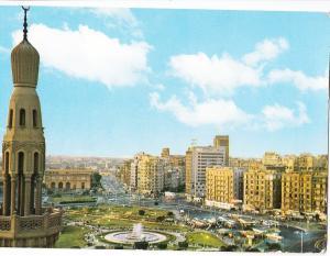 Egypt, Cairo, El-Tahrir Square, used Postcard