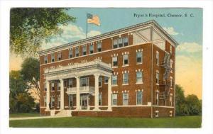 Pryor's Hospital, Chester, South Carolina, 1900-1910s