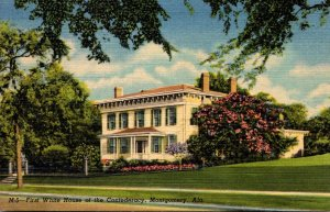 Alabama Montgomert First White House Of The Confederacy Curteich