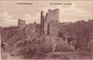 CPA CROZANT Les Ruines (1143855)