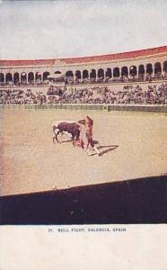 Spain Valencia Bull Fight No 21  Womans World  Trip Around The World Series