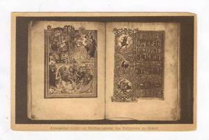 Evangeliar (1212) im Huldigungssaal des Rathauses zu Goslar, Germany, 00-10s