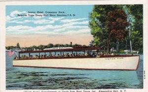 New York Alexandria Bay Uncle Sam Boat Tours Curteich sk6292