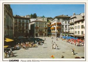 Switzerland Lugano Piazza della Riforma