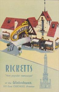 Ricketts Restaurant At The Water Tower Chicago Illinois