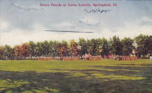 Dress Parade at Camp Lincoln,  Springfield,  Illinois,   PU_1912