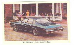 1977 Buick Century Custom Sedan Four Door, 70s