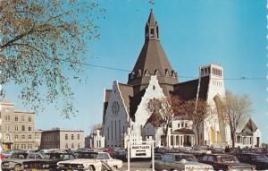 The Basilica, Cap-De-La-Madeleine, Quebec, Canada, 1940-1960s