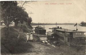 CPA Vietnam Indochine TONKIN Viétri - Le Port (61592)