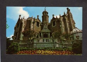 FL Haunted Mansion House Disney World Amusement Pk Orlando Florida Postcard