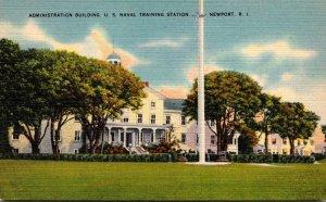 Rhode Island Newport Administration Building U S Naval Training Station