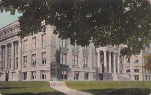 Exterior,  Hall of Natural Science,  State University of Iowa,  Iowa City,  I...